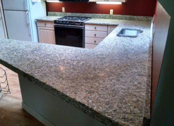 Custom Granite Kitchen Counter