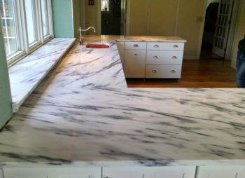 Custom Marble Countertop